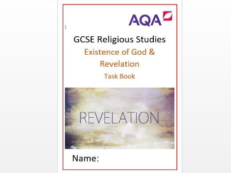 AQA Revelation and the Existence of God: Task Book