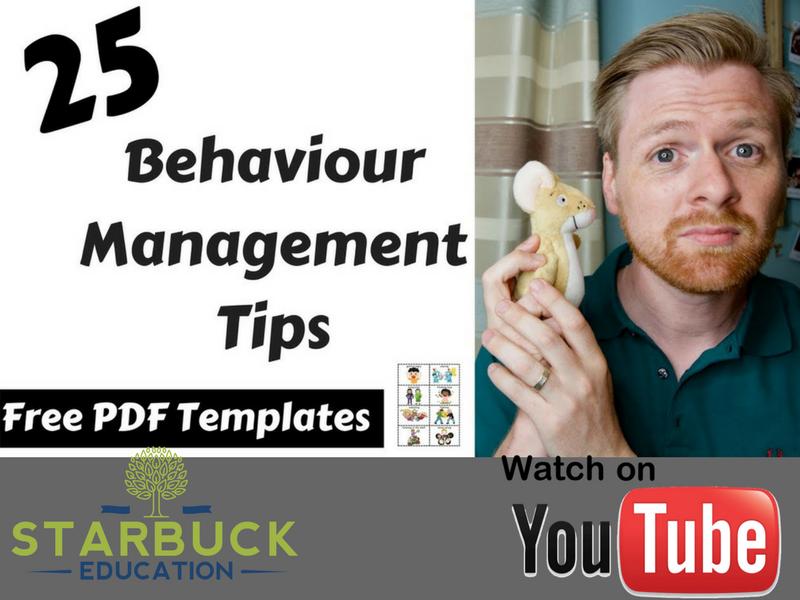 25 BEHAVIOUR MANAGEMENT TIPS FOR EYFS & KS1