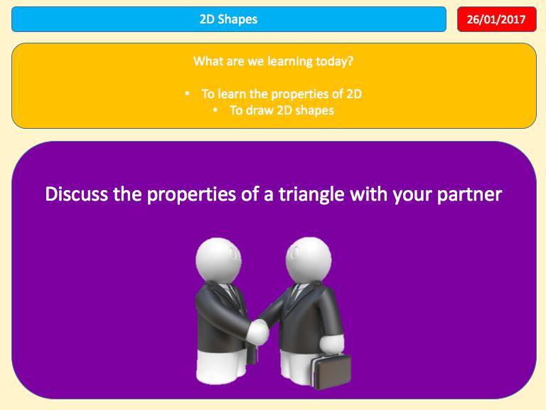 2D Shapes Whole Lesson