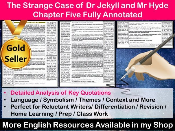The Strange Case of Dr Jekyll and Mr Hyde Chapter 5 Fully Annotated