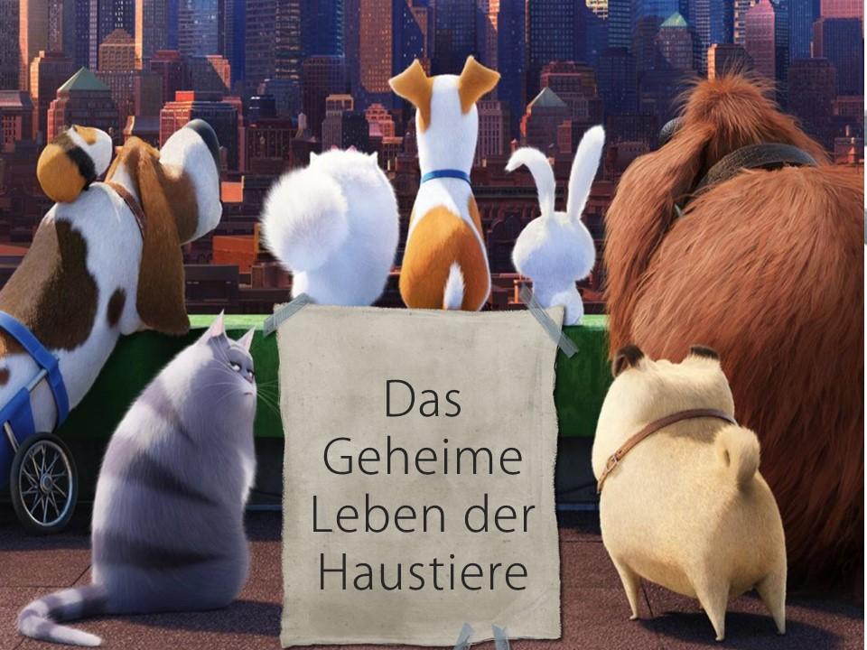 Introducing pets with Das Geheime Leben der Haustiere
