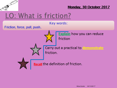 Forces and motion primary science