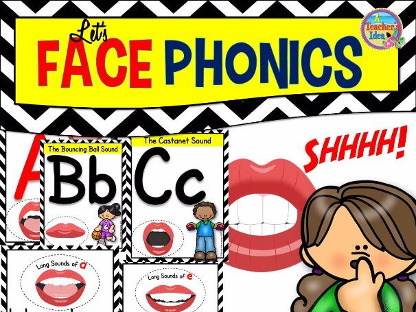 Speech Sound Posters for Literacy Learning - Let's Face Phonics