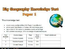 GCSE Coasts Revision  Test Questions with Re-teach slides