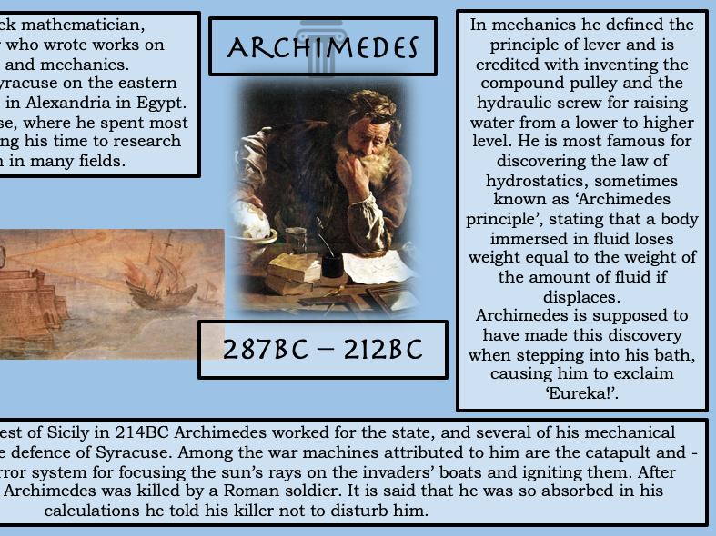 Ancient Greece Mini Scheme of Work
