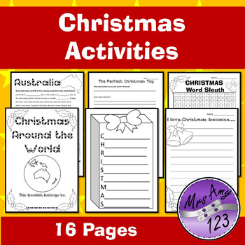 Christmas Around the World and Other Activities