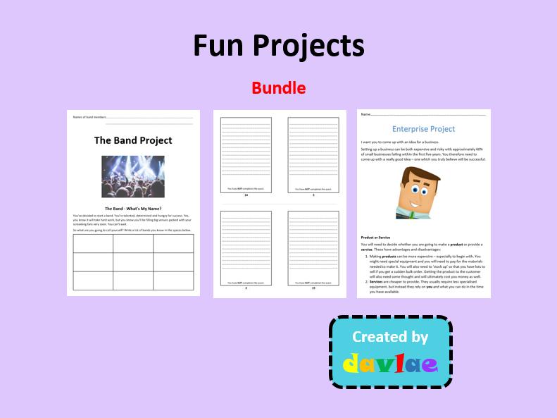 Fun Projects Bundle