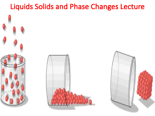 Liquids Solids and Phase Changes Lecture (Chemistry)