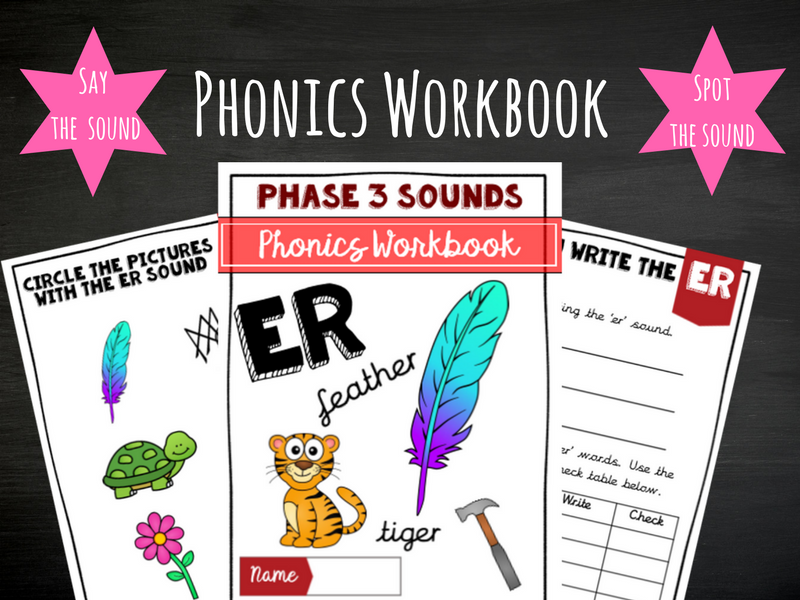 'er' Phonics Workbook