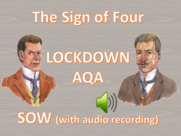 LOCKDOWN - Sign of Four (and audio included)