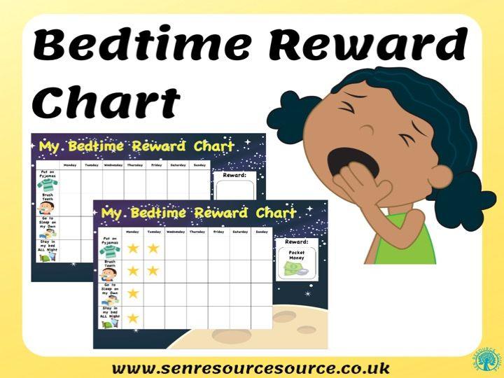 Bedtime Reward Chart