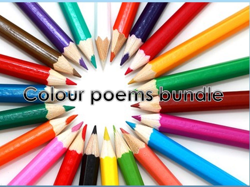 EYFS/KS1 Colour poems