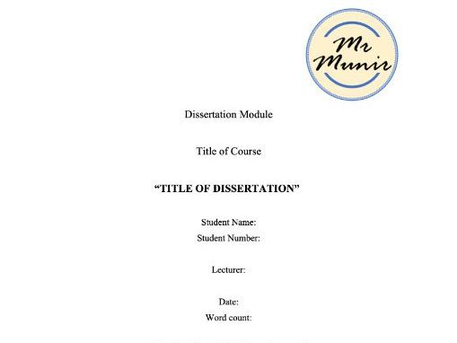 Skills gained writing dissertation