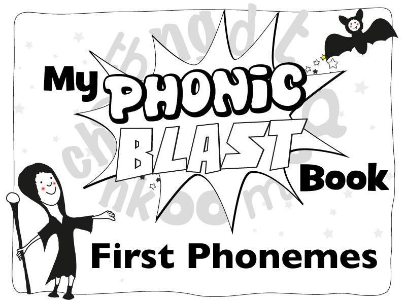 Phonics Workbook First Phonemes: Phonic Blasts