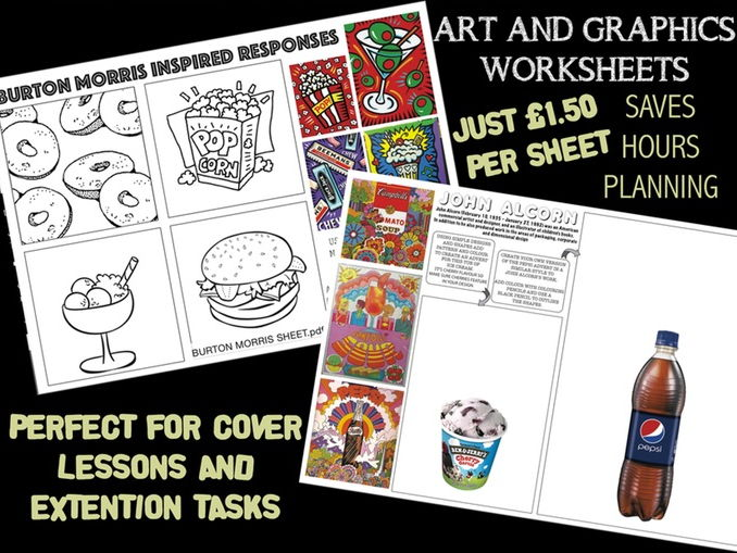 Art/Graphics Worksheets