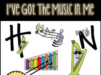 I've Got The Music In Me, Music Clip art