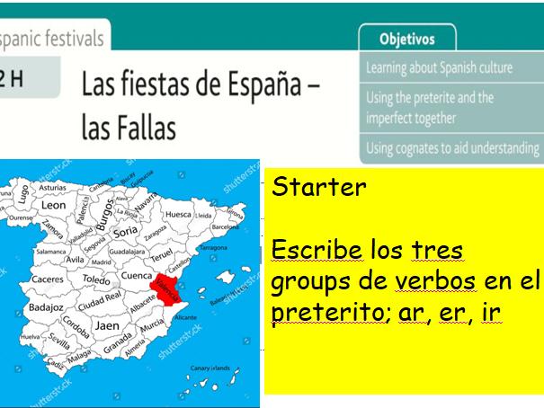 GCSE Spanish Las Fallas de Valencia