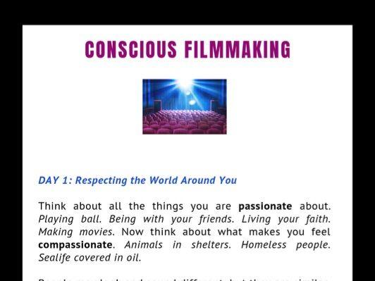 FILMTEACH: Conscious Filmmaking
