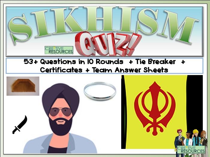 Sikhism Quiz