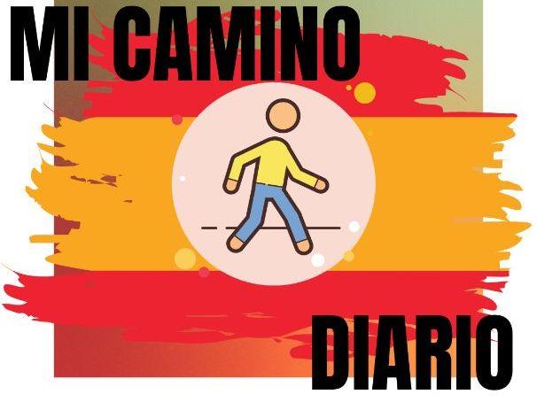 Mi camino diario Spanish Walk Checklist