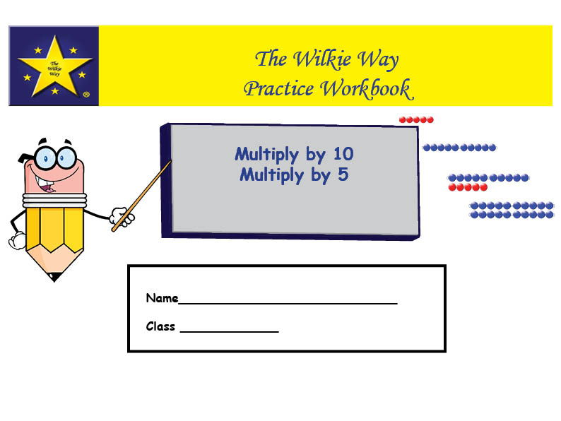 Practice Workbook: Multiply by 10 and 5