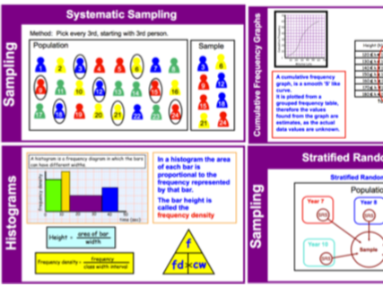 Ultimate Revision Guide for GCSE Maths - Data & Probability  Grades 3-6 (notebook)