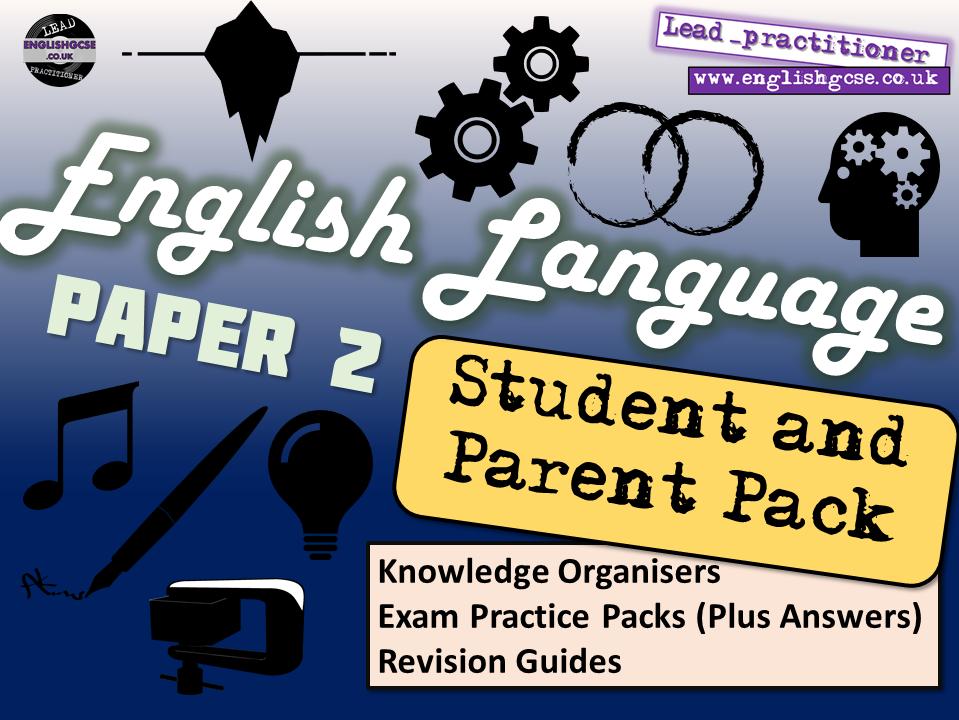 AQA English Language Paper 2 Home Learning