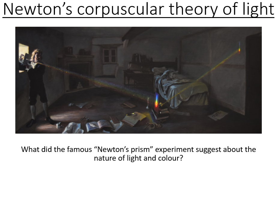 A-Level Turning Points in Physics - Newton and Huygens theories of light  (PowerPoint & Lesson Plan)