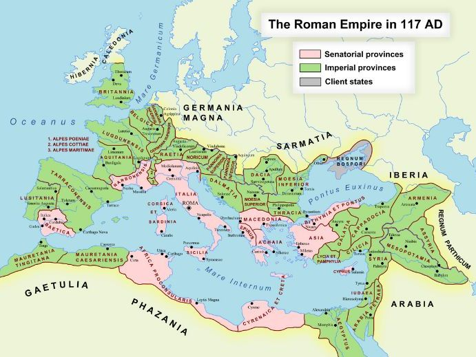 Where was the Roman Empire?