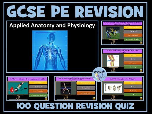 GCSE PE Revision Quiz