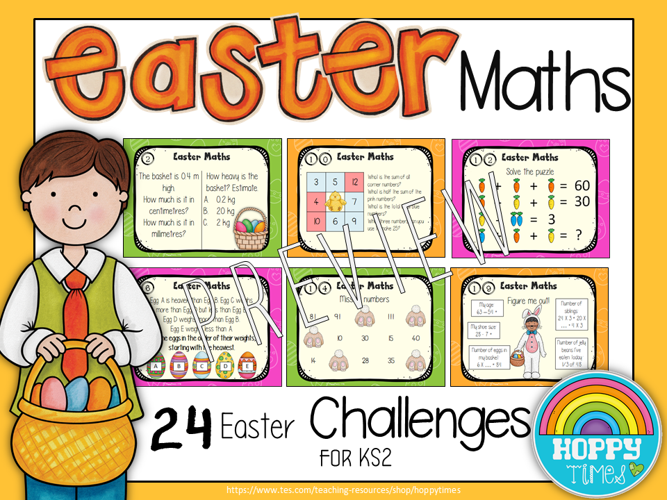 Easter Maths  KS2