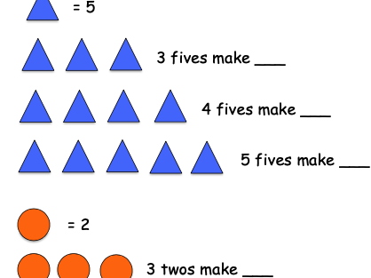 Counting in multiples of 2, 5 and 10 Worksheet