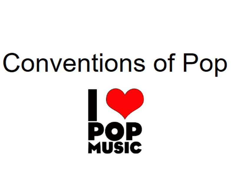 KS4 GCSE Music - Conventions of Pop