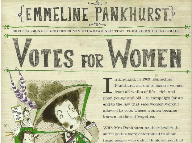 Fantastically Great Women Who Changed the World by Kate Pankhurst Comprehension KS2