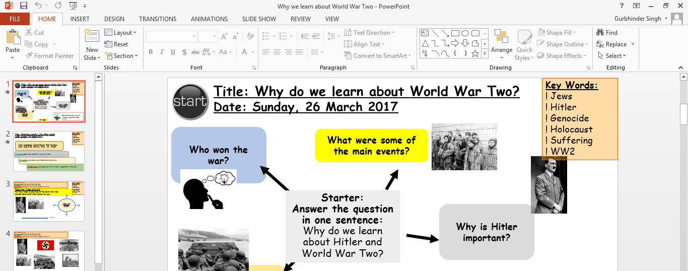 Four World War Two lessons bundle