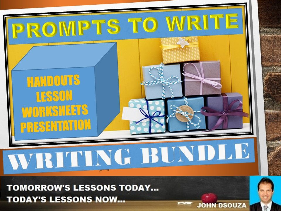 USING PROMPTS TO WRITE: BUNDLE