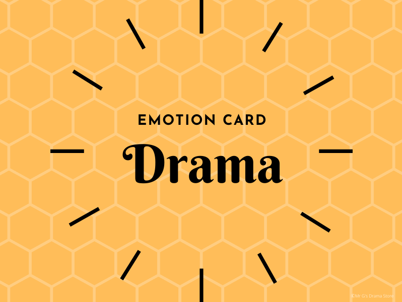 Drama Emotion Cards