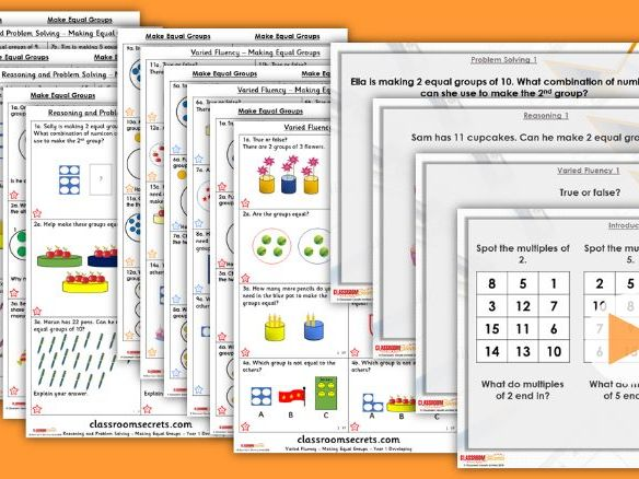 Year 1/2 Mixed Age Spring Block 1 Step 12 Lesson Pack