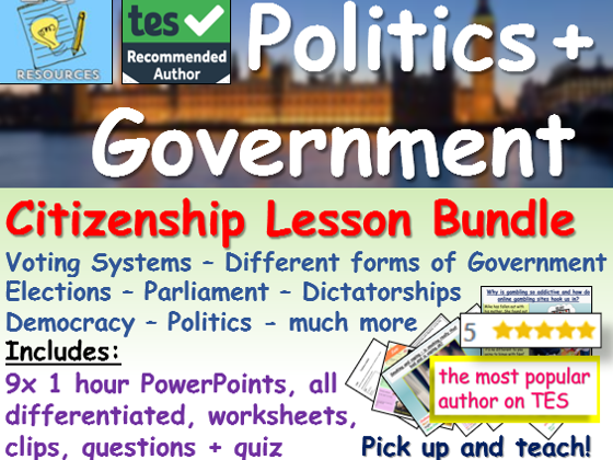 Politics + Government