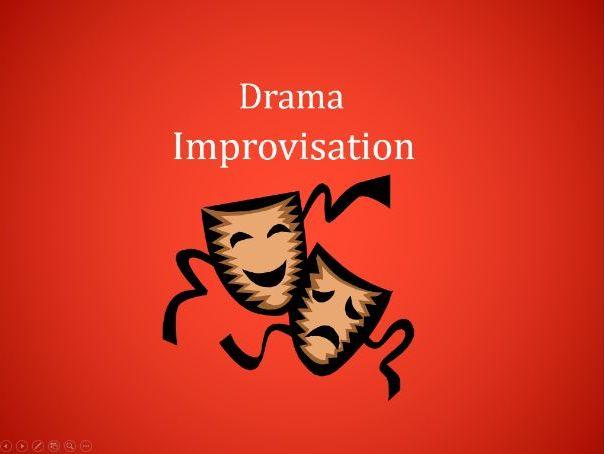 Drama Improvisation Scenarios