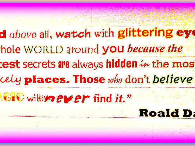 Splendiferous Roald Dahl Classroom Pack of Resources
