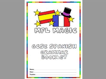 GCSE Spanish grammar booklet