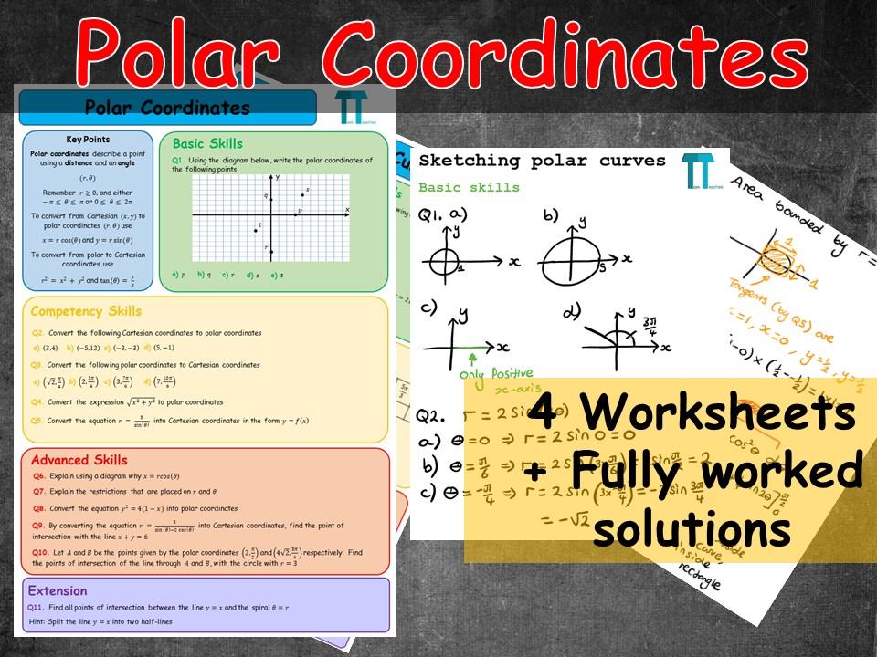 Polar coordinates for Further Maths A-Level