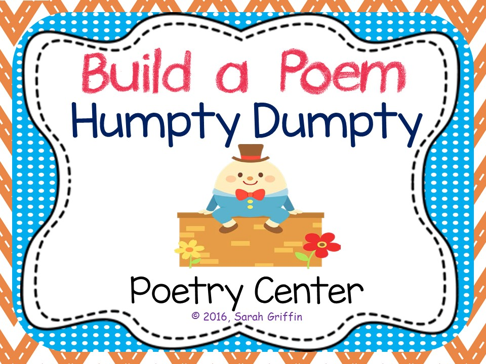Build a Poem: Humpty Dumpty - Pocket Chart Center