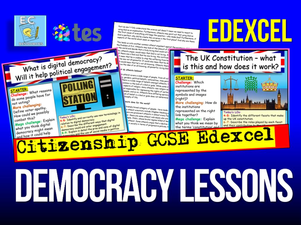 Edexcel GCSE Citizenship - Democracy