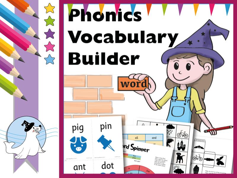 Phonics Vocabulary Builder
