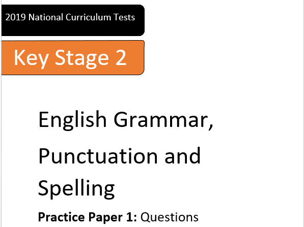KS2 SpaG Test Practice Papers (SATs)