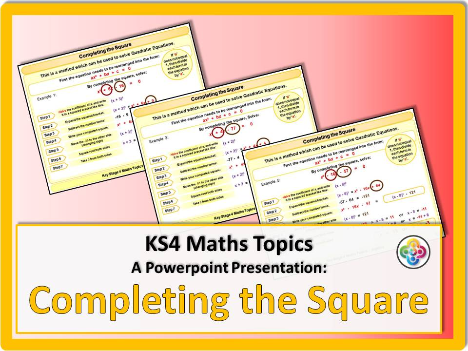 Completing the Square KS4