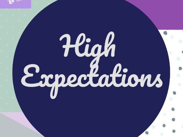 TS1 High Expectations CPD Resources