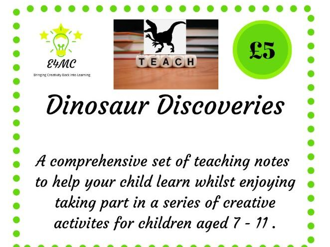 Dinosaur Discoveries - Teaching Notes